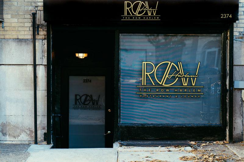 Dinner Menu – The Row Harlem